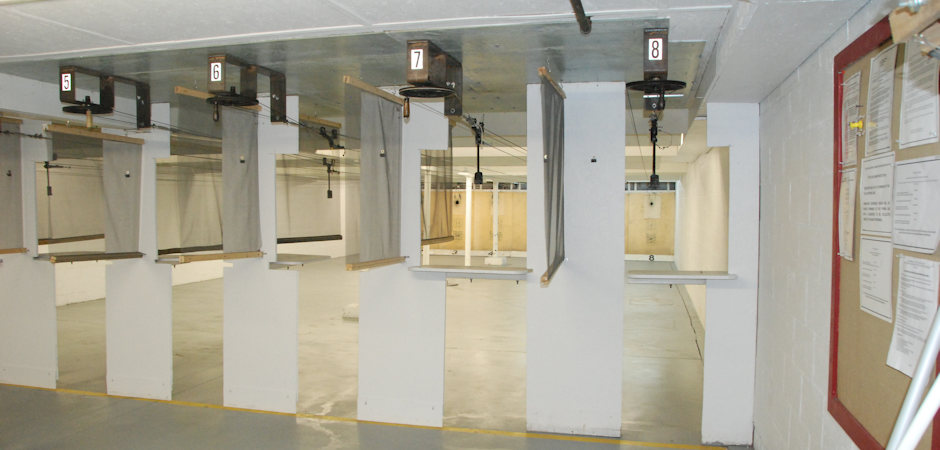 The Tom Carroll Indoor Pistol Range